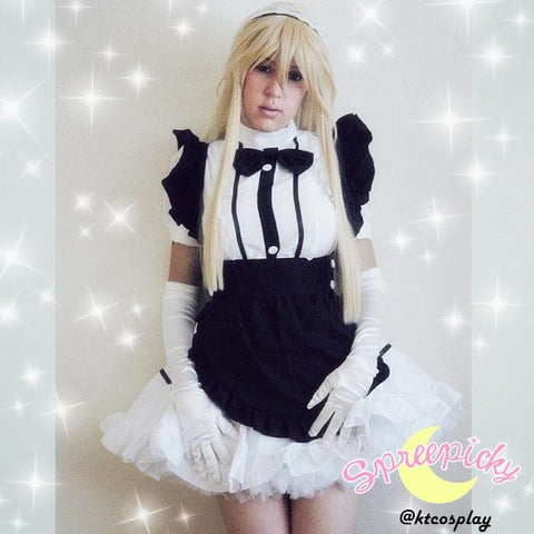 Halloween Cosplay Black Maid Dress SP141208 - SpreePicky  - 2