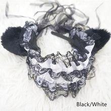Load image into Gallery viewer, Cosplay Small Bells Lace Cat Ears Hair Band Hook SP141225 - SpreePicky  - 3