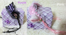 Load image into Gallery viewer, Cosplay Small Bells Lace Cat Ears Hair Band Hook SP141225 - SpreePicky  - 4