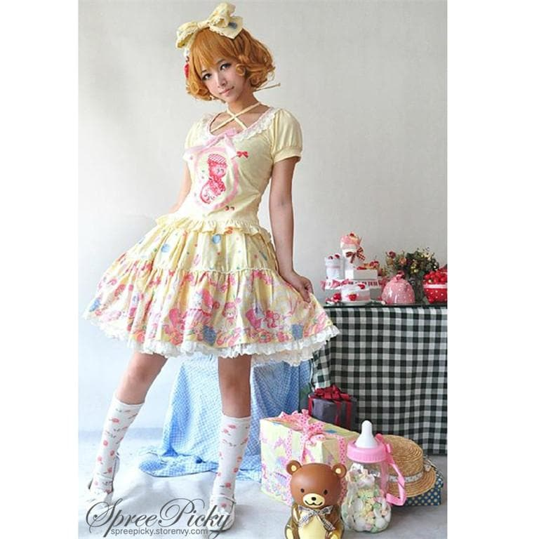 [Infanta]LOLITA*Dolly House*Skirt SP140403 - SpreePicky  - 1