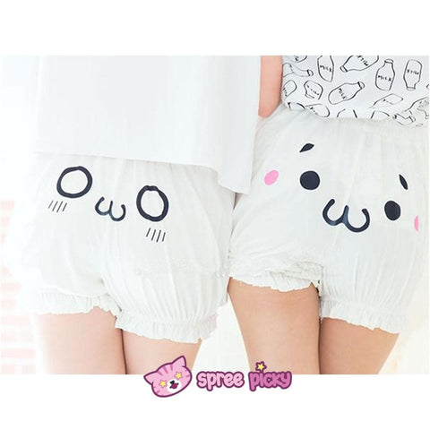 [6 Emoji] Kawaii Emoji Cotton Bloomer With Elastic SP141247 - SpreePicky  - 2