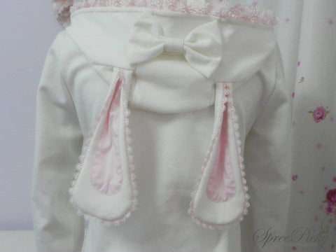 Lolita Bunny/Bear Ears Lace Hooded Coat SP140500 - SpreePicky  - 6