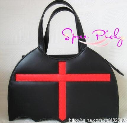 Lolita Cool Bat Hand Bag SP140392 - SpreePicky  - 1