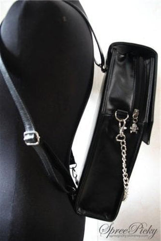 Lolita Gothic Coffin Bag 3 Ways-Crossbody/Hand Bag/Backpack SP140420 - SpreePicky  - 4