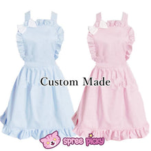 Load image into Gallery viewer, Lolita Kawaii Bow Maid Apron Free Ship SP141124 - SpreePicky  - 1