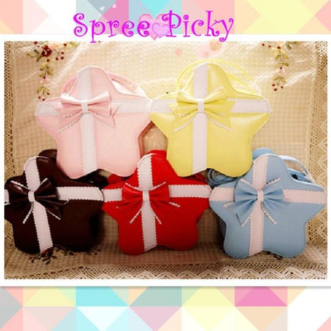 Lolita cute star bags with bow - 6 colors - SP140451 - SpreePicky  - 1