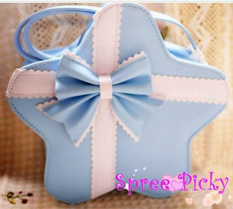 Lolita cute star bags with bow - 6 colors - SP140451 - SpreePicky  - 2