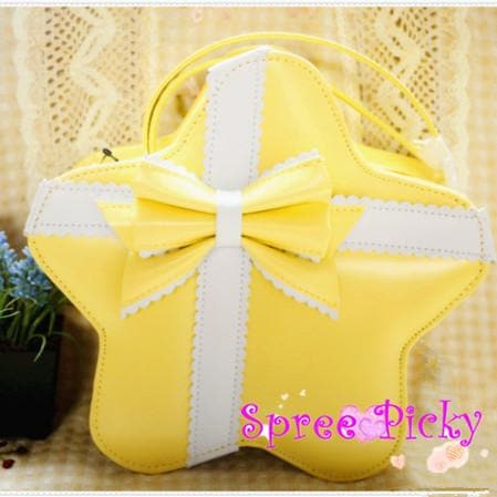 Lolita cute star bags with bow - 6 colors - SP140451 - SpreePicky  - 3