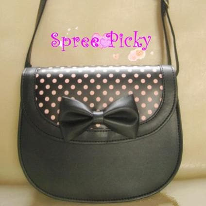Lolita lovelyTalasite dots ladybird hang bag - SP140442 - SpreePicky  - 4