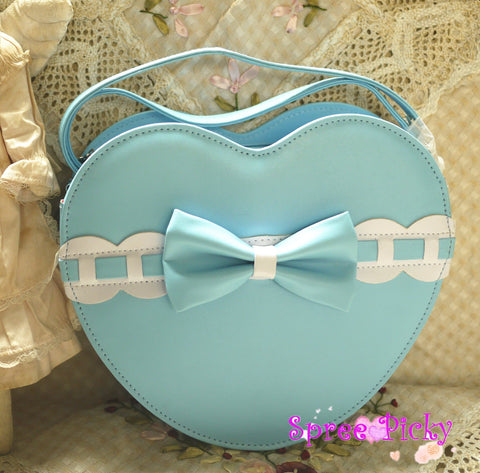 Lolita lovely Peach Hearts bag - 7 colors -SP140466 - SpreePicky  - 2