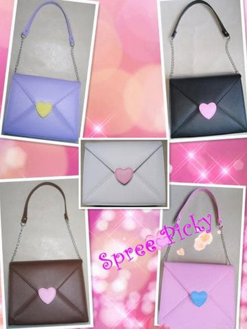 Lolita lovely envelope bag - 5 colors - SP140461 - SpreePicky  - 1