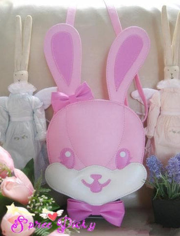Lolita lovely rabbit head bag - 3 colors - SP140454 - SpreePicky  - 2