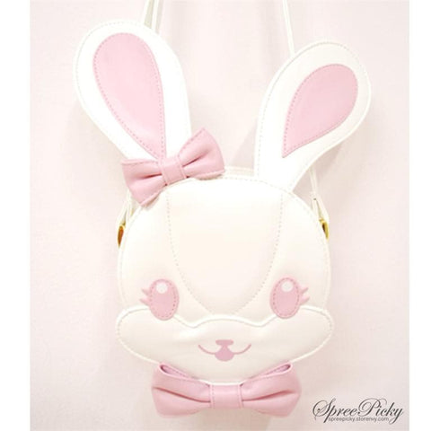 Lolita lovely rabbit head bag - 3 colors - SP140454 - SpreePicky  - 4