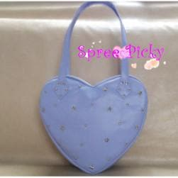 Lolita lovely stars rivet of heart hand bag - 3 colors - SP140443 - SpreePicky  - 3