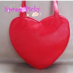Lolita lovely stars rivet of heart hand bag - 3 colors - SP140443 - SpreePicky  - 4