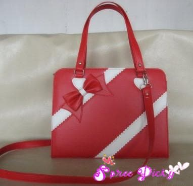 Lolita lovely winter ribbon bow bag - 6 colors -SP140464 - SpreePicky  - 2