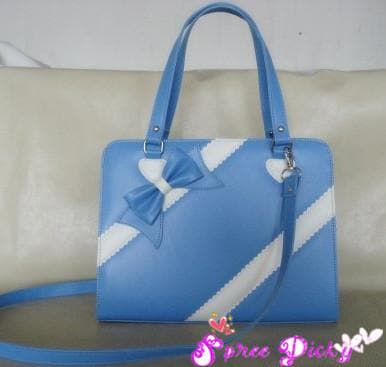 Lolita lovely winter ribbon bow bag - 6 colors -SP140464 - SpreePicky  - 3