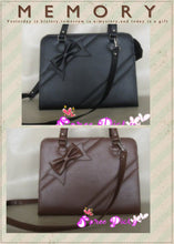 Load image into Gallery viewer, Lolita lovely winter ribbon bow bag - 6 colors -SP140464 - SpreePicky  - 5