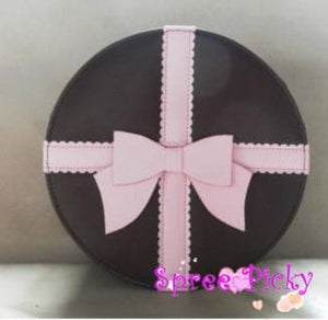 Lolita round bag with bow - 3 colors -SP140447 - SpreePicky  - 1