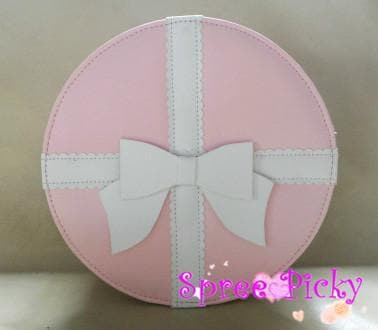 Lolita round bag with bow - 3 colors -SP140447 - SpreePicky  - 2
