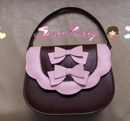 Lolita sweet double bows bag - 7 colors - SP140453 - SpreePicky  - 1