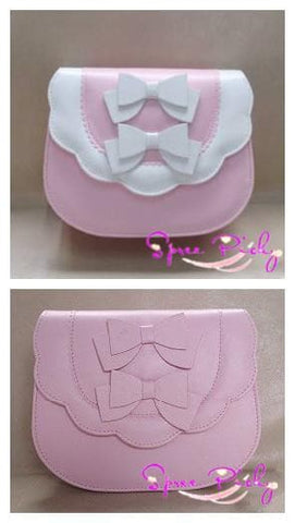 Lolita sweet double bows bag - 7 colors - SP140453 - SpreePicky  - 3