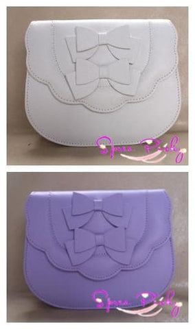 Lolita sweet double bows bag - 7 colors - SP140453 - SpreePicky  - 4