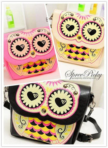 Owl Shoulder Crossbody Hand Bag 3 Ways Using SP140410 - SpreePicky  - 5