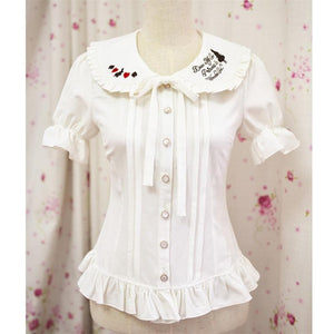 Princess In Wonderland Blouse Top  SP141084 - SpreePicky  - 1