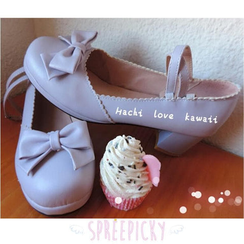 Princess Style Thick Heel Lolita Shoes SP140490 - SpreePicky  - 1