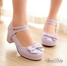 Load image into Gallery viewer, Princess Style Thick Heel Lolita Shoes SP140490 - SpreePicky  - 4