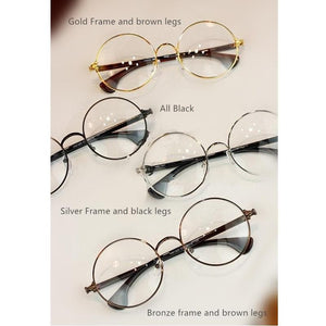 [5 Colors] Retro Metal Big Glasses SP141391 - SpreePicky  - 2