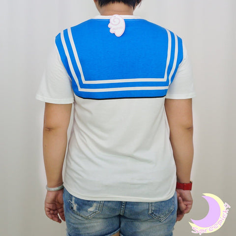 S-3XL [Sailor Moon] Short Sleeve Senshi Seifuku Printing Cotton T-Shirt SP140524 - SpreePicky  - 10