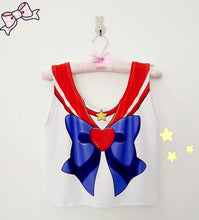 Load image into Gallery viewer, Sailor Senshi Bow Crop Top SP1710499