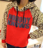 Size S-XL Autumn Cute Leopard Printing Sleeves Jumper Sweater SP141420 - SpreePicky  - 3
