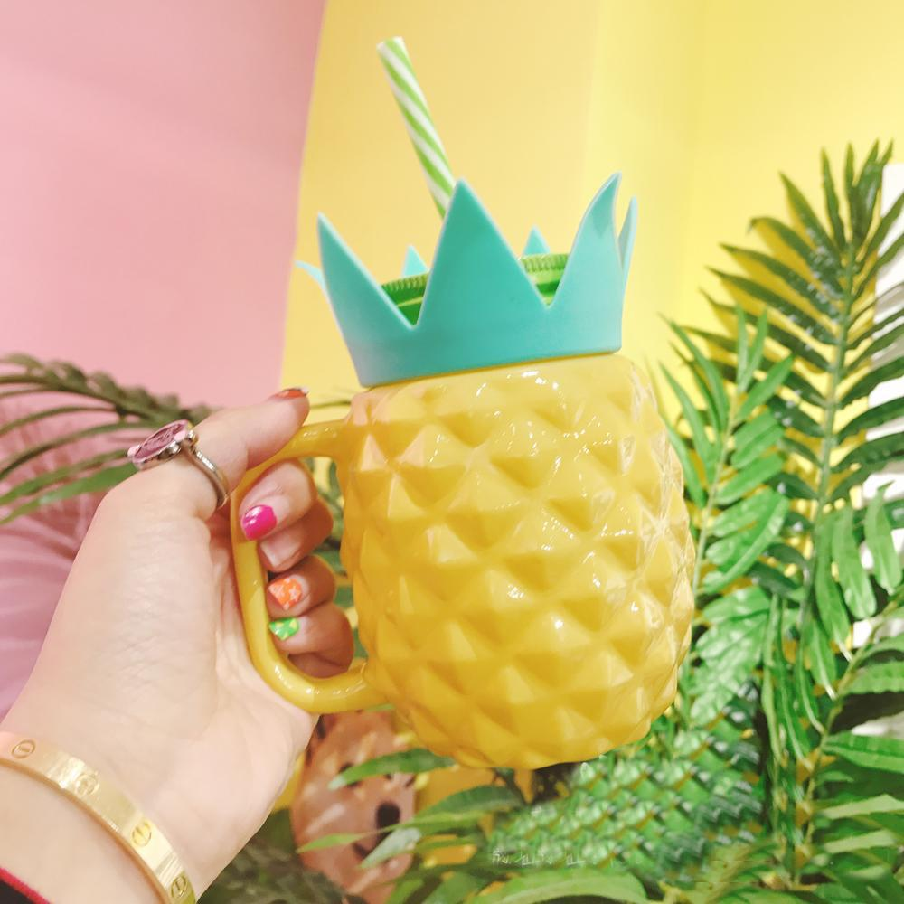 Yellow/Blue Pastel Pineapple Cup SP179872