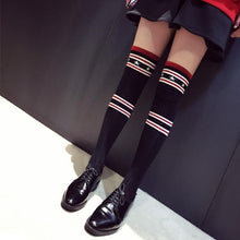 Load image into Gallery viewer, Star Striped Over Knee Stockings SP1711122