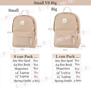 Students Canvas Backpack SP1710376