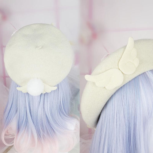 Sweet Angelic Wing Beret SP1711531