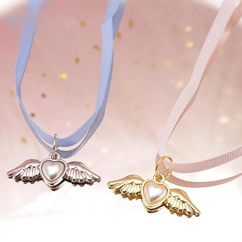 Sweet Card Captor Sakura Heart-Shaped Wing Choker SP164993