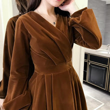 Load image into Gallery viewer, Sweet Girl Puff Sleeve Dress SP1811648