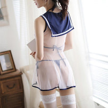 Load image into Gallery viewer, Sweet Heart Sailor Uniform Lingerie Set SP13674