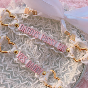 Sweet Lolita Yes Daddy/Daddys Pussy Cat Choker SP13274