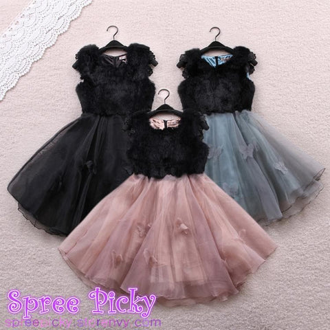 Sweet Organza fluffy dress SP130307 - SpreePicky  - 1