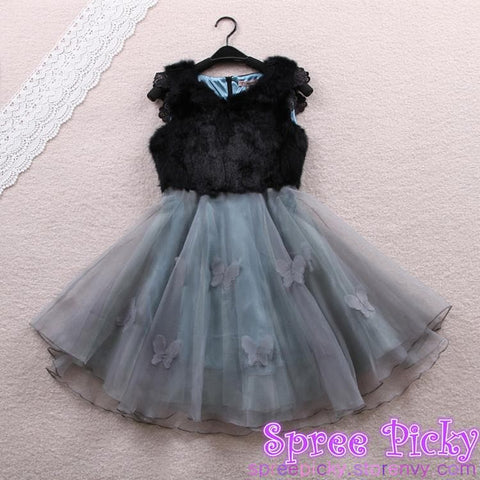 Sweet Organza fluffy dress SP130307 - SpreePicky  - 4