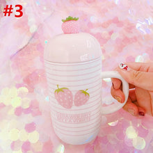 Load image into Gallery viewer, Sweet Strawberry Ceramic Mug SP13420