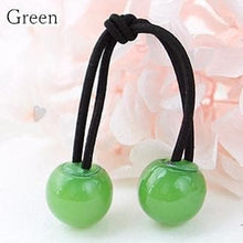 Load image into Gallery viewer, [12 Colors] Candy Colors Jelly Balls Hair Ring 2 Pieces SP151665 - SpreePicky  - 5