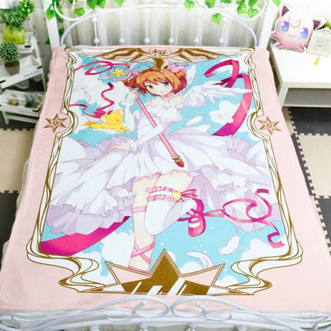 Card Captor Sakura Flannel Blanket SP178682