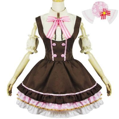 Cosplay [Love Live] Nico Yazawa Candy Maid Dress SP153014 - SpreePicky  - 1