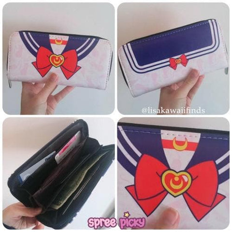 [Sailor Moon] Tsukino Usagi Kawaii Zipper Wallet Purse SP164900